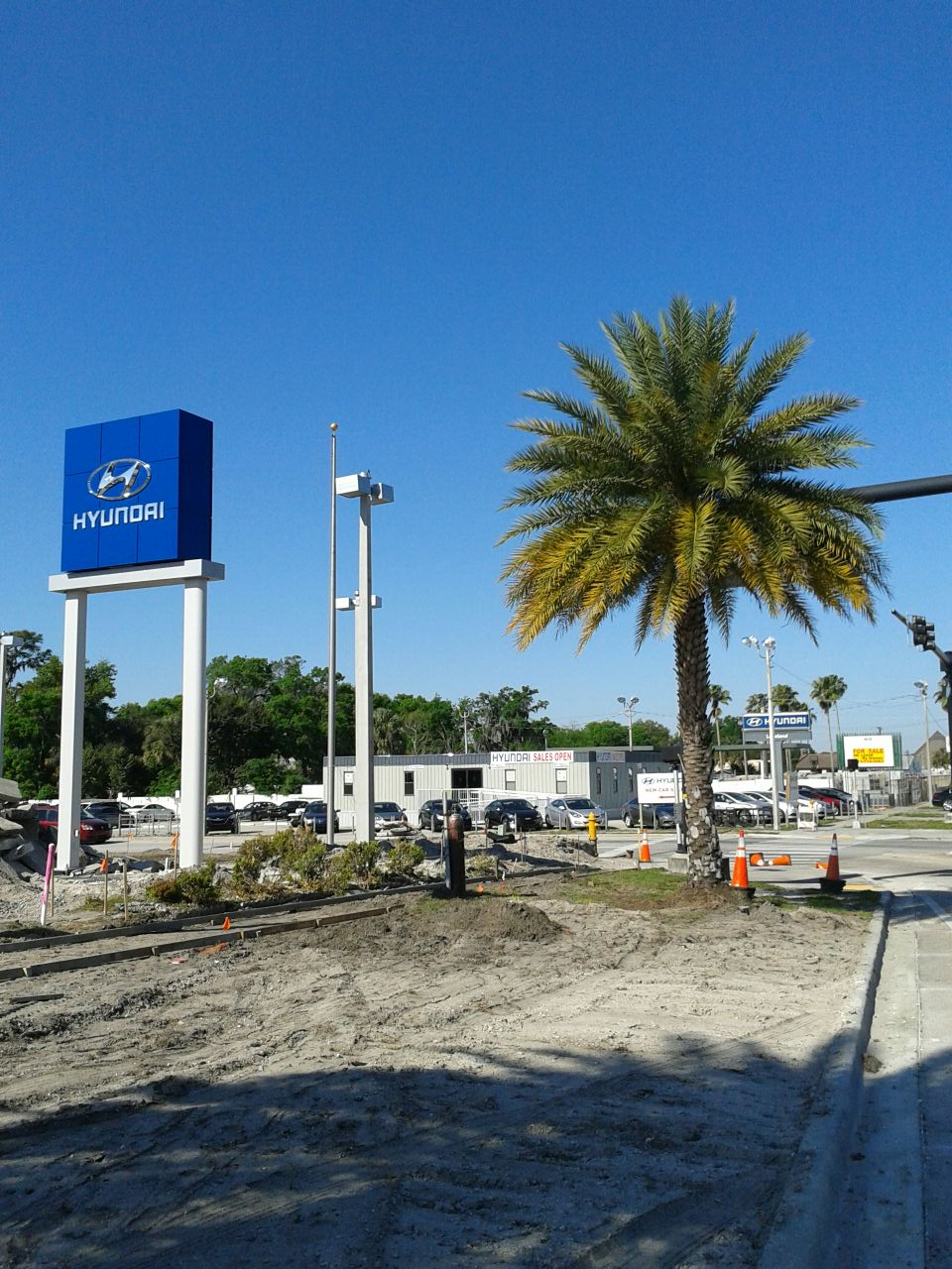 It's still coming... The New Lakeland Hyundai Facility Nearing Completion