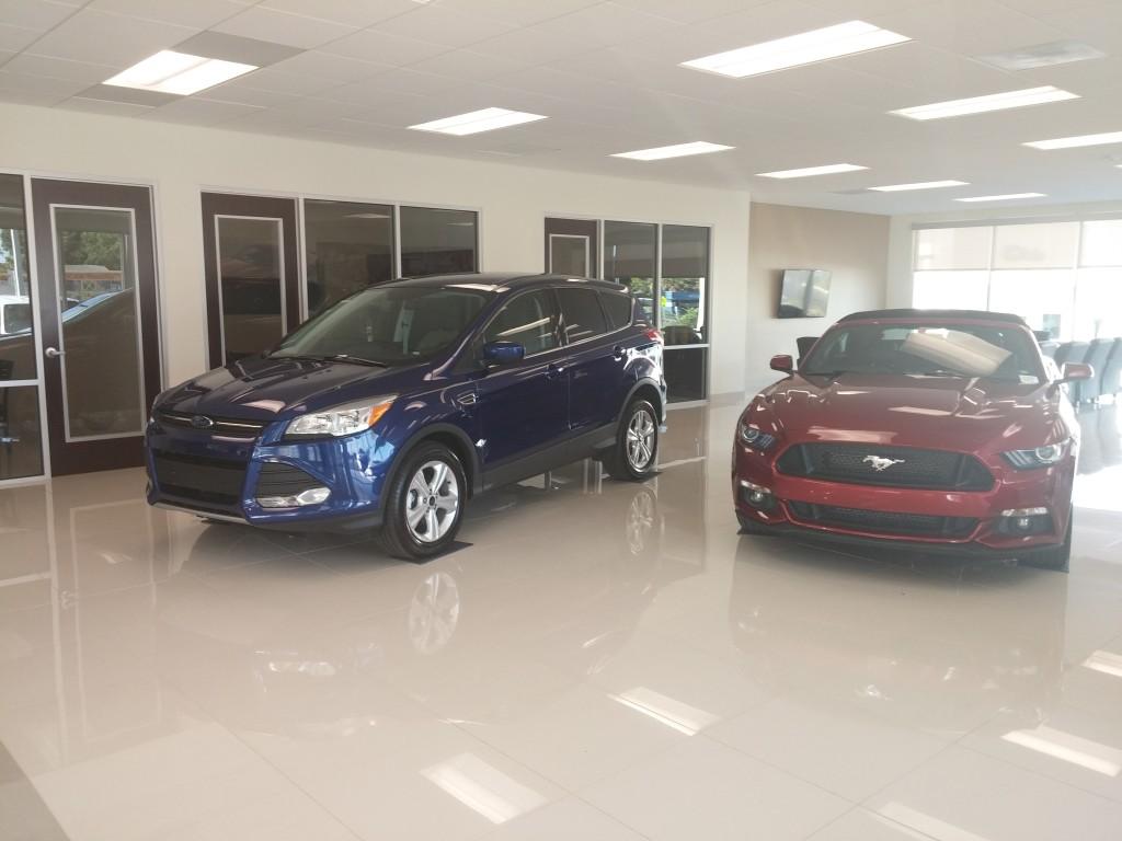 Lakeland Ford Showroom 1