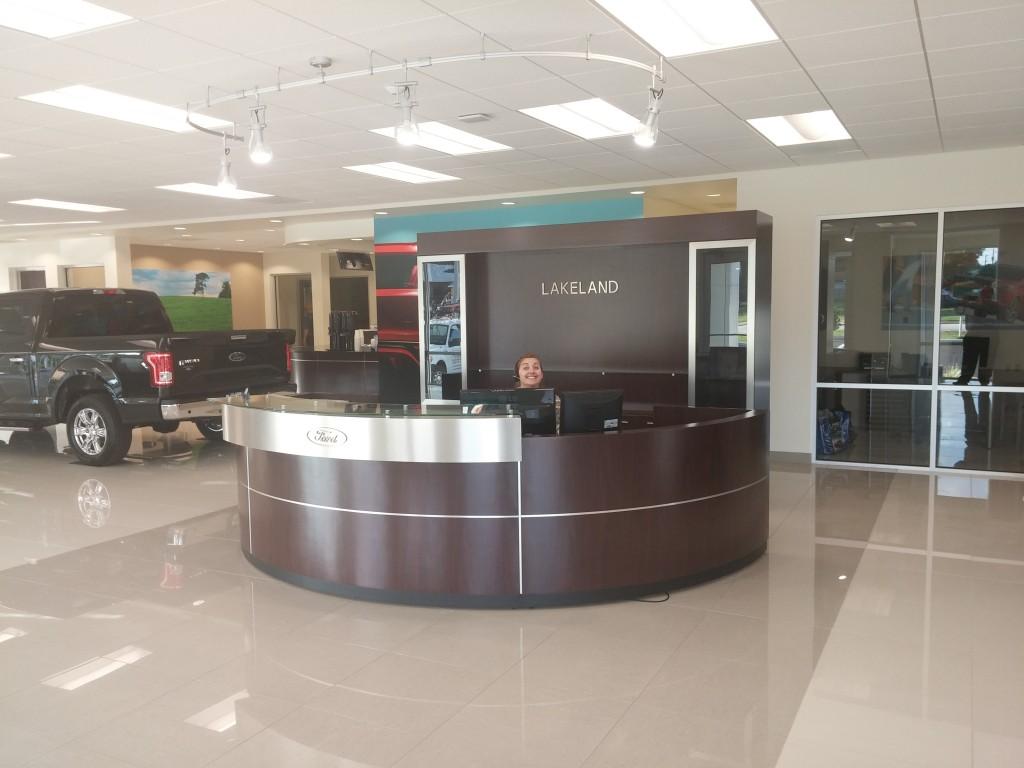 Lakeland Ford Reception Area