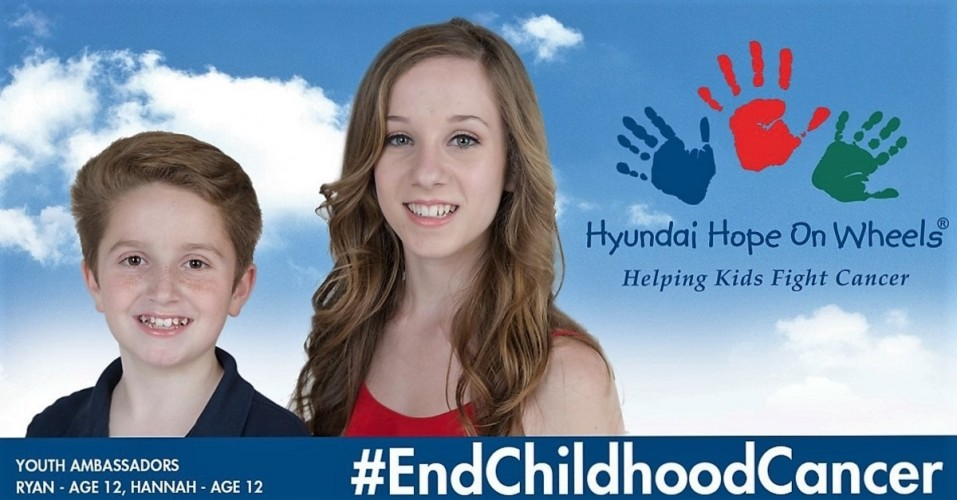 HYUNDAI HOPE ON WHEELS UNVEILS $13 MILLION COMMITMENT TO CHILDHOOD CANCER IN 2016, MARKS MORE THAN $115 MILLION OF FUNDING TO DATE