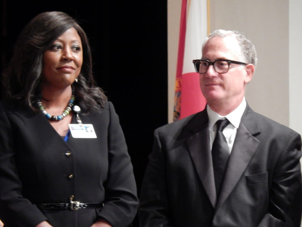 Jacqueline Byrd, Polk County Schools Superintendent & Greg Balasco, Lakeland Automall Owner