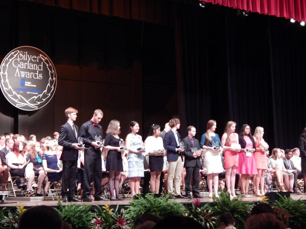 Silver Garland Awards, May 9, 2016 – Florida Southern College – Branscomb Auditorium