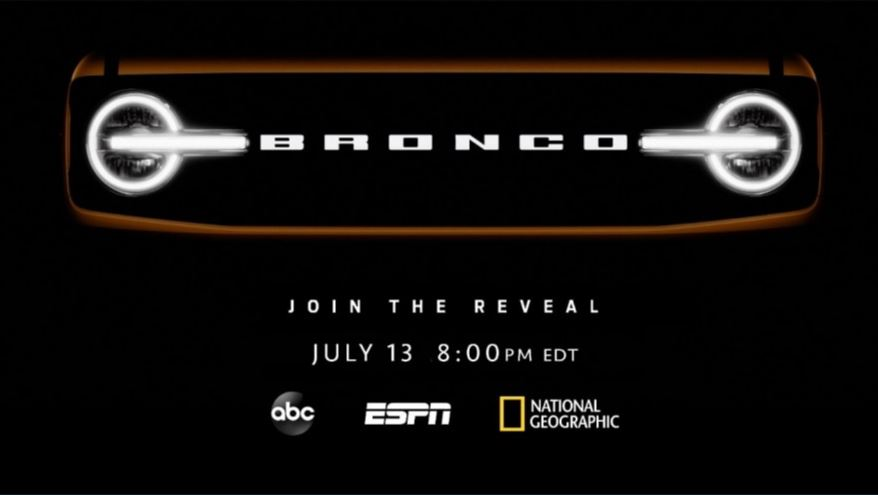 Ford and Disney Gear Up to Reveal All-New Ford Bronco Family, Across ABC, ESPN, National Geographic and Hulu