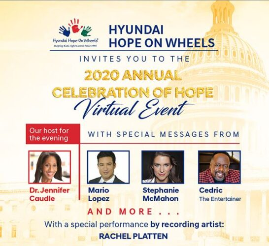 Celebration of Hope 2020 Virtual Event - Register Now!