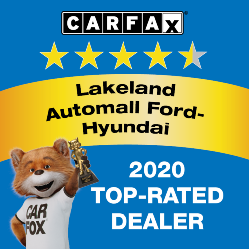 Lakeland Automall Ford-Hyundai RECOGNIZED AS A CARFAX TOP-RATED DEALER