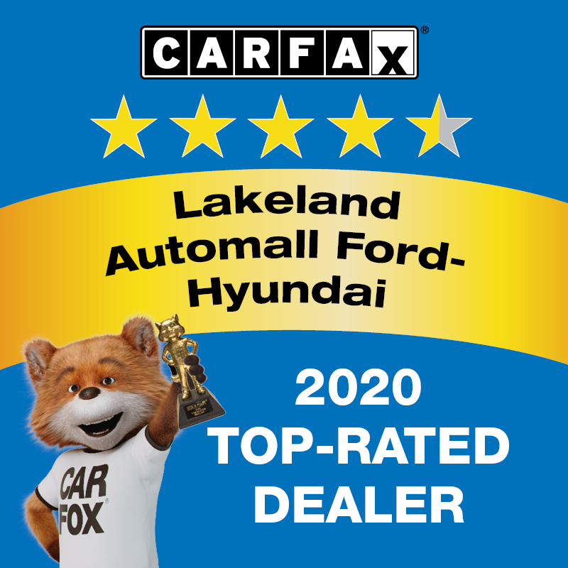 LAKELAND AUTOMALL CARFAX 2020 TOP-RATED DEALER